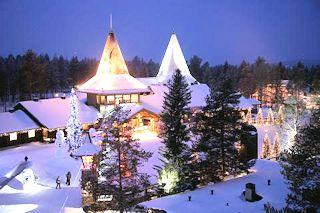village du pere noel france Rovaniemi Santa Claus Village du père noël Chalet Hotel hébergement village du pere noel france
